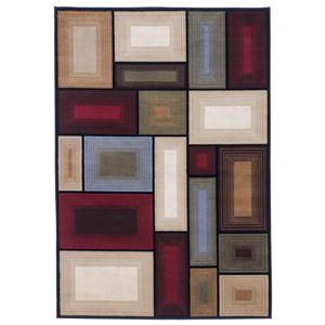 Signature Design by Ashley Contemporary Area Rugs Prism - Multi Rug
