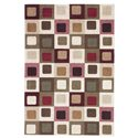 Signature Design by Ashley Contemporary Area Rugs Sloane - Red Rug - Item Number: R217002