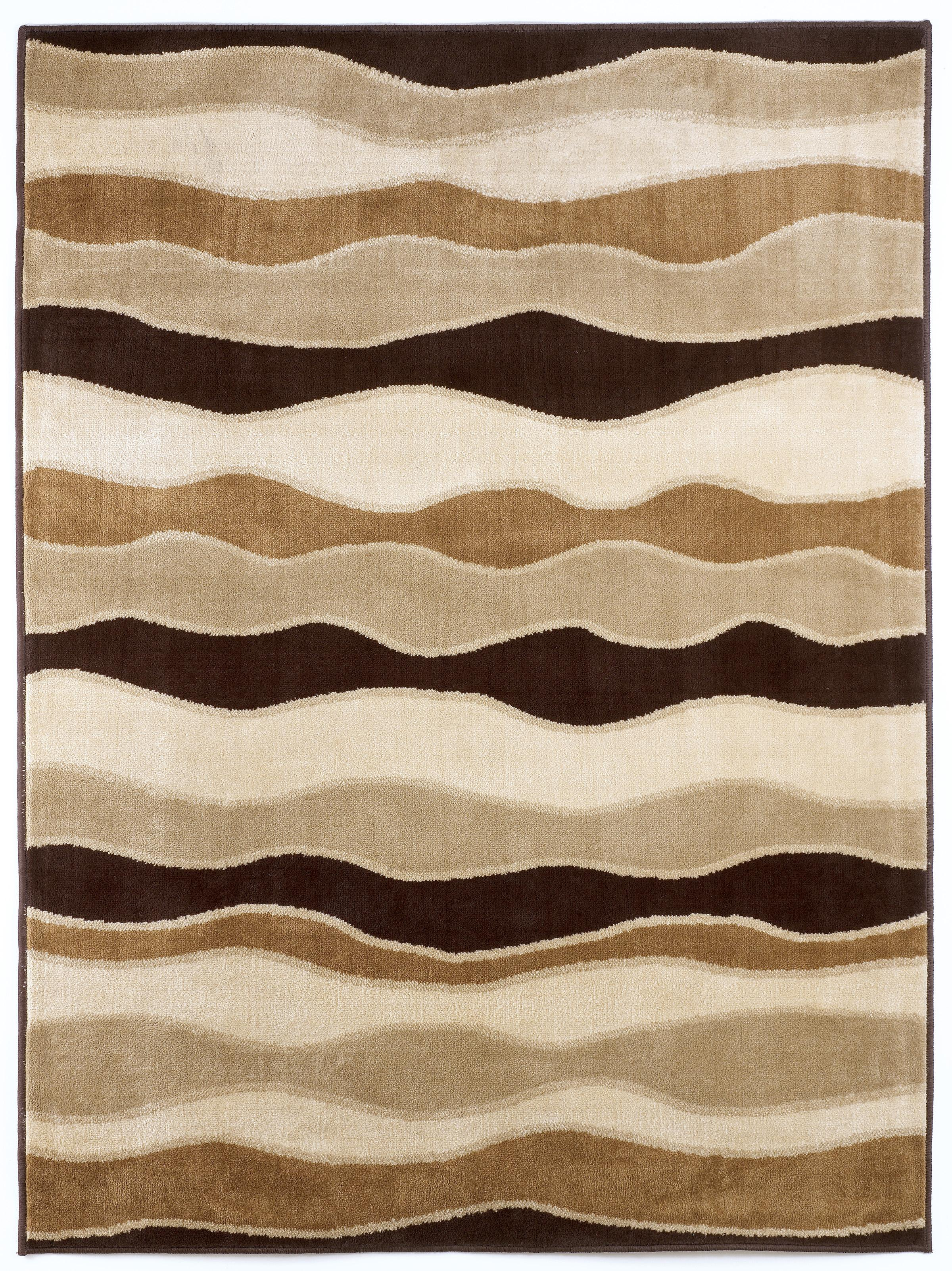 Signature Design by Ashley Contemporary Area Rugs Frequency - Toffee Rug - Item Number: R228002