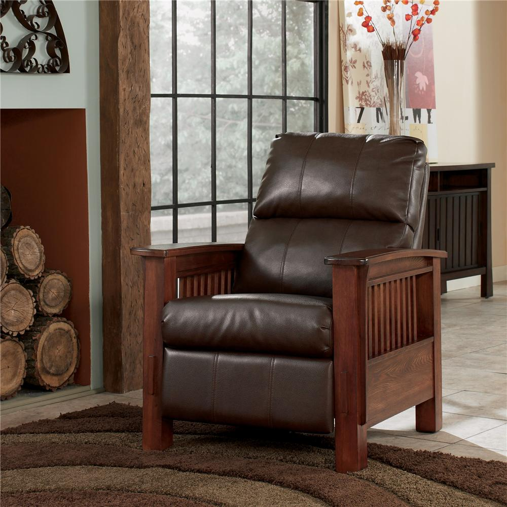 Signature Design by Ashley Santa Fe  High Leg Recliner - Item Number: 1990026