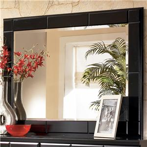 Signature Design by Ashley Shay Landscape Dresser Mirror