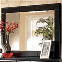 Signature Design by Ashley Shay Landscape Dresser Mirror - Item Number: B271-36