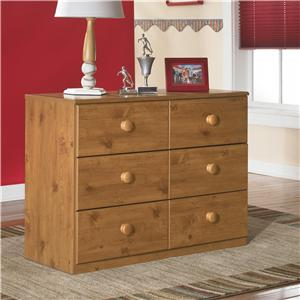Signature Design by Ashley Furniture Stages Loft Drawer Storage Chest