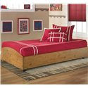 Signature Design by Ashley Stages Twin Loft Caster Bed