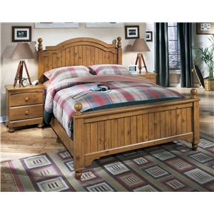 Signature Design by Ashley Stages Queen Poster Bed