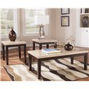 Signature Design by Ashley Wilder Occasional Table Set - Item Number: T165-13