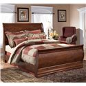 Signature Design by Ashley Wilmington Queen Sleigh Bed - Item Number: B178-77+74+96