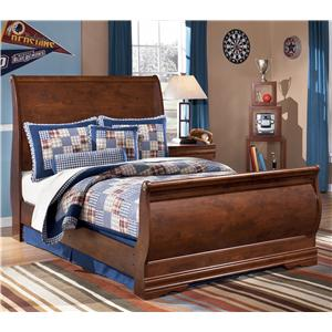 Signature Design by Ashley Wilmington Full Sleigh Bed
