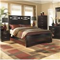 Signature Design by Ashley X-cess Queen Panel Bed - Item Number: 117-54+57+96