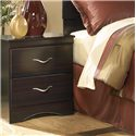 Signature Design by Ashley X-cess Night Stand  - Item Number: 117-92