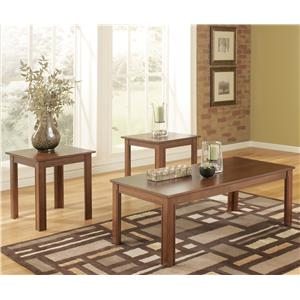 Signature Design by Ashley Yoshi 3 Piece Table Set