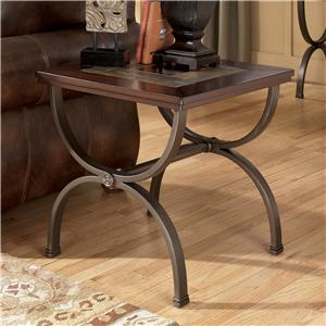 Signature Design by Ashley Zander Square End Table