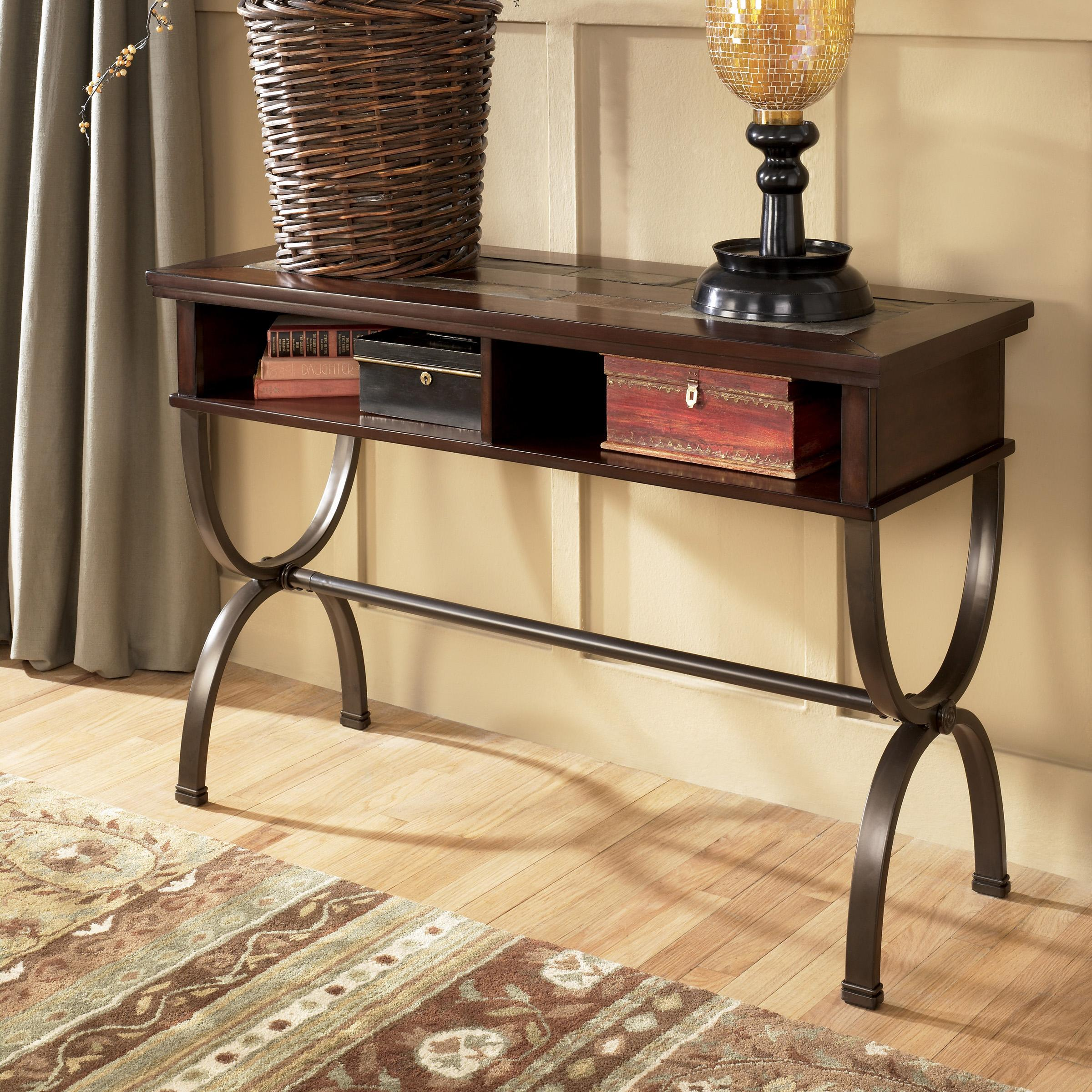 Signature Design by Ashley Zander Sofa/Console Table - Item Number: T415-4