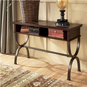 Signature Design by Ashley Zander Sofa/Console Table
