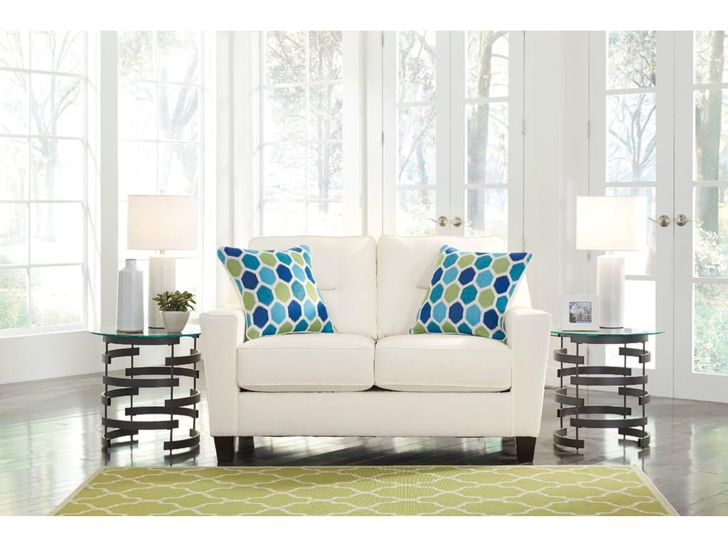 Signature Design by Ashley 0438 Love Seat - Item Number: 6690435