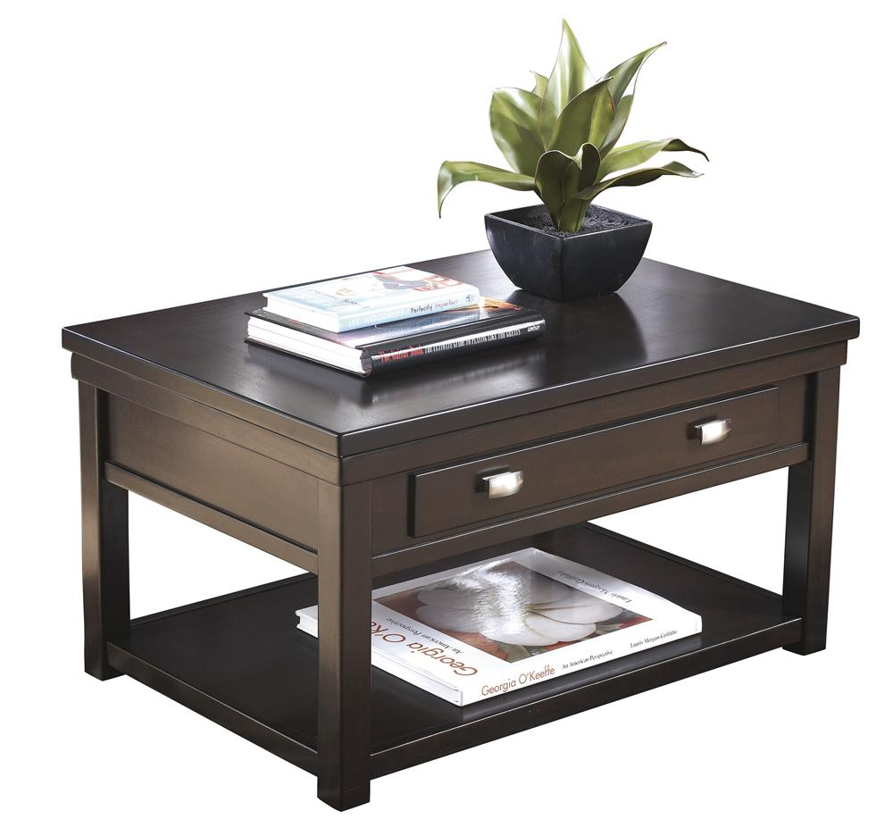 Rectangular Lift-Top Cocktail Table