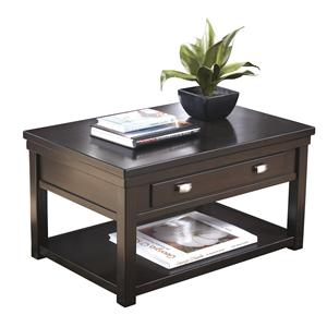 Trendz Hatsuko Rectangular Lift-Top Cocktail Table