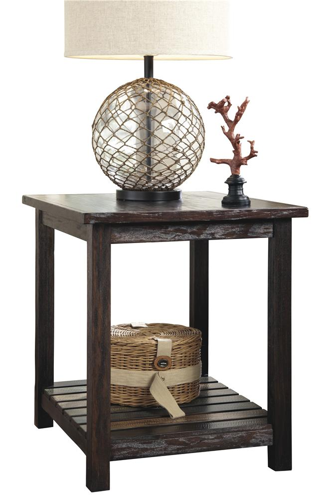 Trendz Pacific Canyon Rectangular End Table - Item Number: T580-3