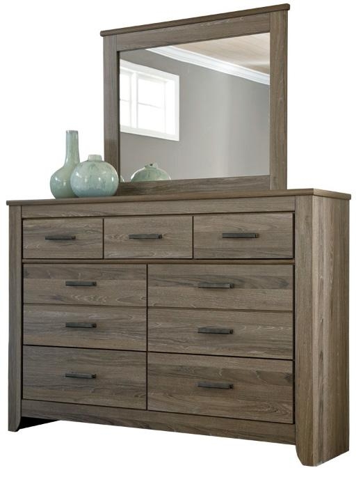Adalyn Rustic Tall Dresser Bedroom Mirror Ruby Gordon Furniture Mattresses Dresser Mirror