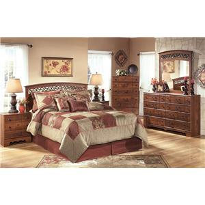 Signature Design by Ashley Pine Ridge 4 Piece Bedroom Group