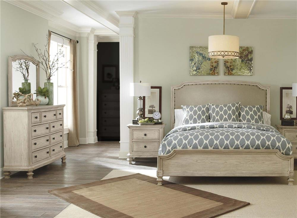 Signature Design by Ashley Clayton 4-Piece King Bedroom Set - Item Number: B693-KBR-4PC