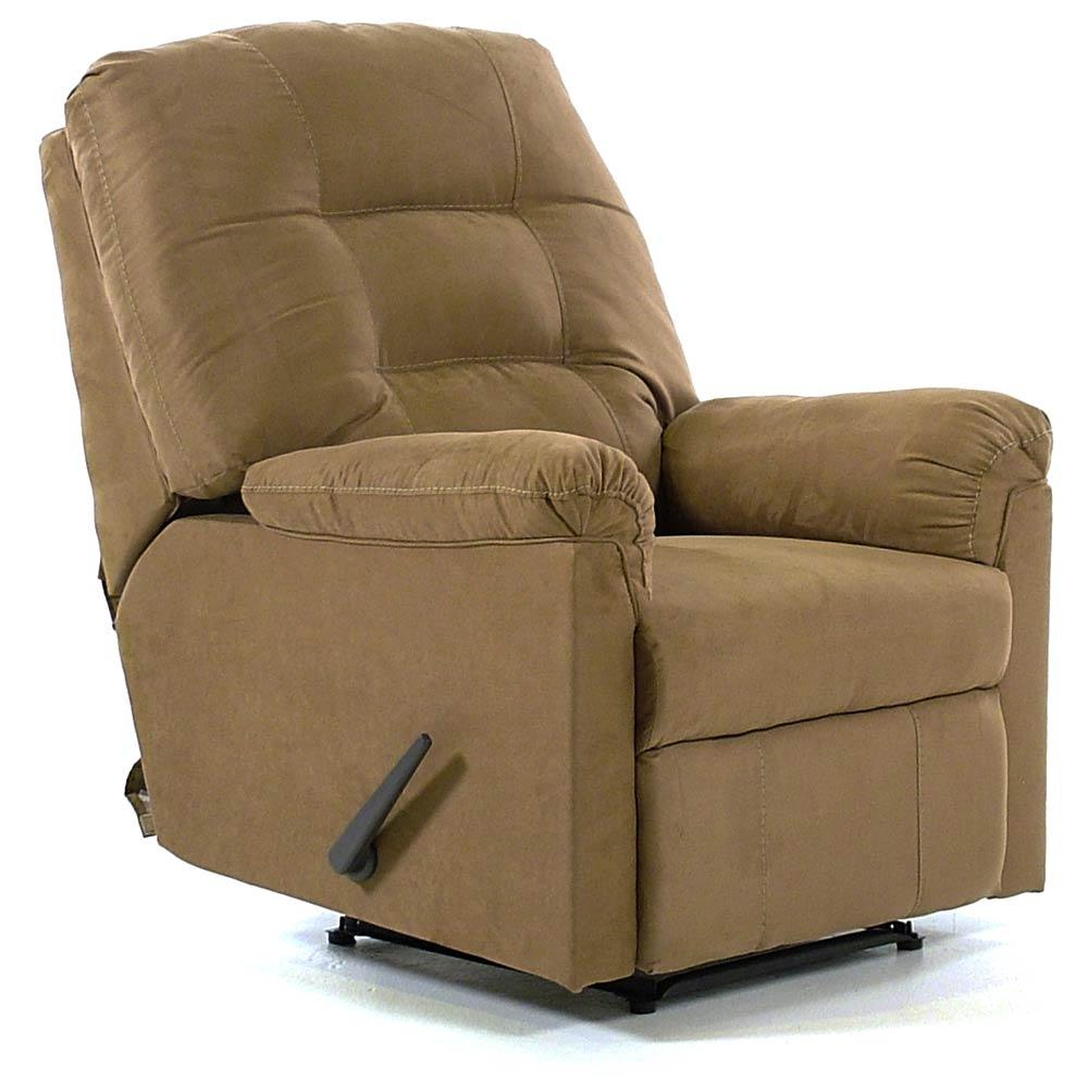 Signature Design by Ashley Cocoa Wall Recliner with Pillow Arms - Item Number: 7560129