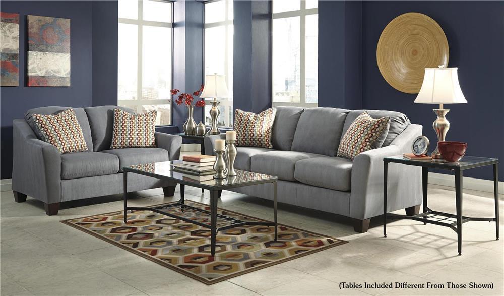 Signature Design by Ashley Talia 5-Piece Living Room Set - Item Number: 9580238+235+T180-13