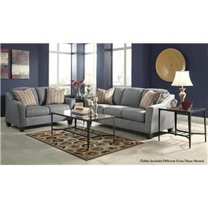 Signature Design by Ashley Talia 5-Piece Living Room Set