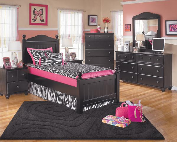 Signature Design by Ashley Jordan 3-Piece Twin Bedroom Set - Item Number: 3pc Bedroom Group