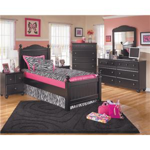 Signature Design by Ashley Jordan 3-Piece Twin Bedroom Set