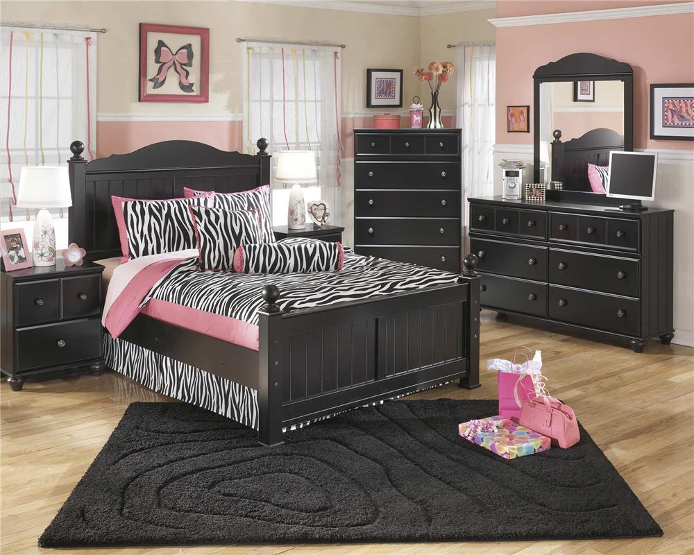 Signature Design by Ashley Jordan 3-Piece Full Bedroom Set - Item Number: B150-FB+21+26