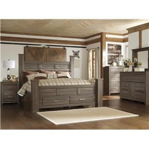 Signature Design by Ashley Sawyer 4pc Queen Storage Bedroom Set
