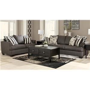 Signature Design by Ashley Central Park Sofa & Loveseat Set