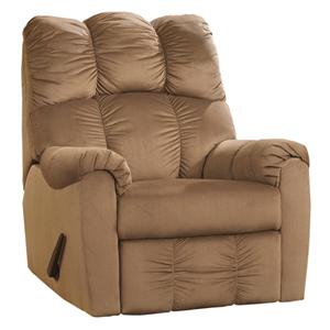 Signature Design by Ashley Raulo - Mocha Rocker Recliner