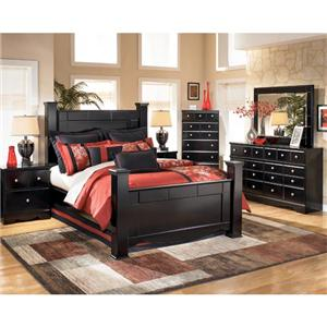 Signature Design by Ashley Shane 4 Piece Queen Bedroom Set