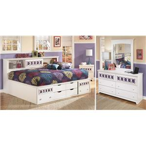 Signature Design by Ashley Zoey 3-Piece Full Bedroom Group