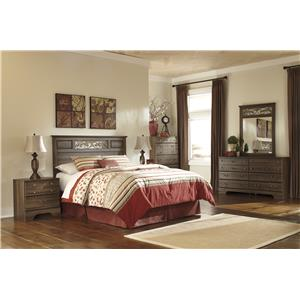 Signature Design by Ashley Furniture Allymore Allymore Headboard, Dresser, Mirror