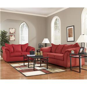 Signature Design by Ashley Furniture Darcy - Salsa Darcy 13 Piece Living Room Package