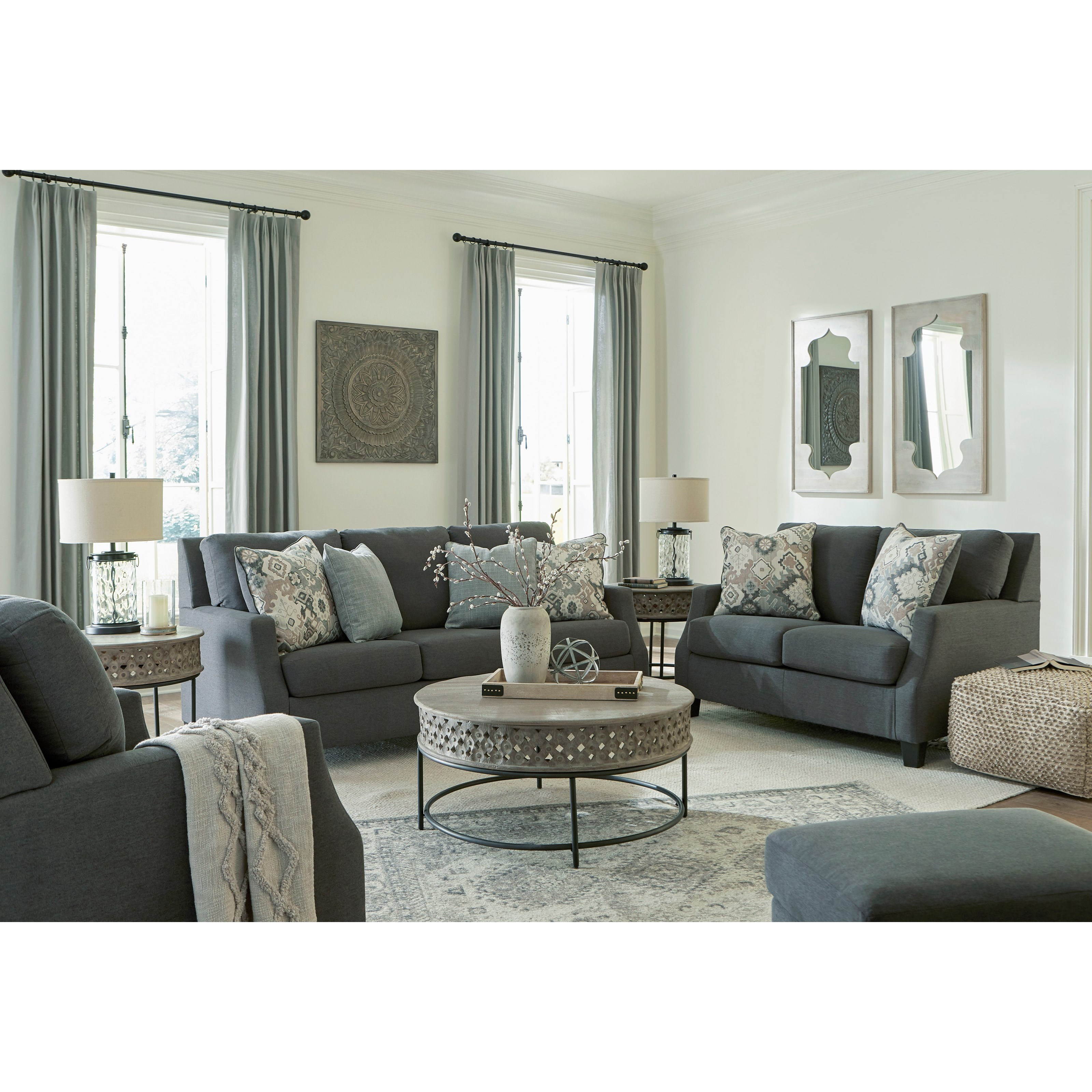 Bayonne Living Room Group by Signature Design by Ashley at Goffena Furniture & Mattress Center