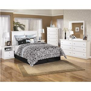 Signature Design by Ashley Bostwick Shoals 4 Piece Queen/Full Bedroom Group