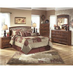 Signature Design by Ashley Timberline 5 Piece Queen/Full Bedroom group