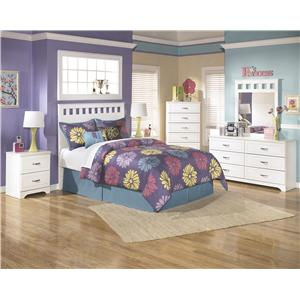 signature design by ashley lulu 3 piece youth twin bedroom set ashley leo twin bedroom set