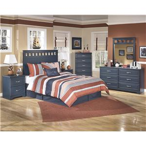 Signature Design by Ashley Leo 3 Piece Youth Twin Bedroom Group