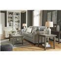 Signature Design by Ashley Alandari Sofa and Chair Set - Item Number: 122398907