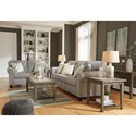 Signature Design by Ashley Alandari Stationary Living Room Group - Item Number: 98909 Living Room Group 1