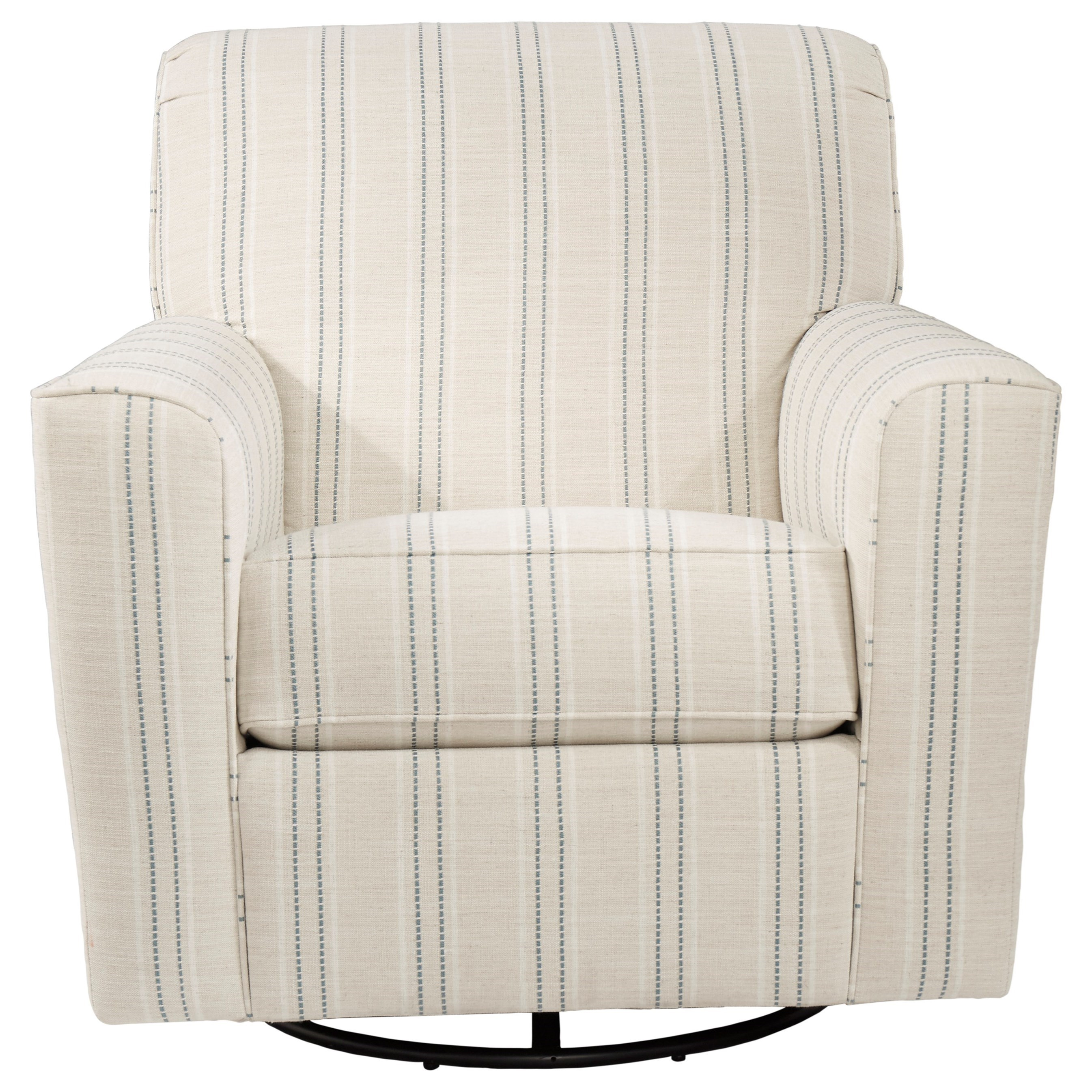 Alandari Swivel Glider Accent Chair by StyleLine at EFO Furniture Outlet