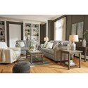 Signature Design by Ashley Alandari Transitional Accent Chair with Swivel Glider