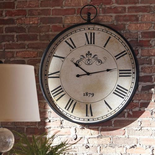 Wall Clock Augustina Clock by Signature Design by Ashley at Furniture Fair - North Carolina