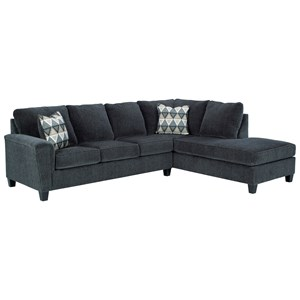 2-Piece Sectional w/ Chaise and Sleeper