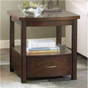 Signature Design by Ashley Furniture Accara Rectangular End Table